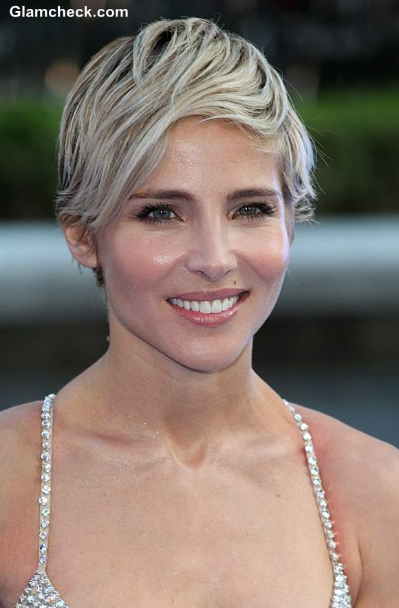 Elsa Pataky Pixie Hair Color and Styling