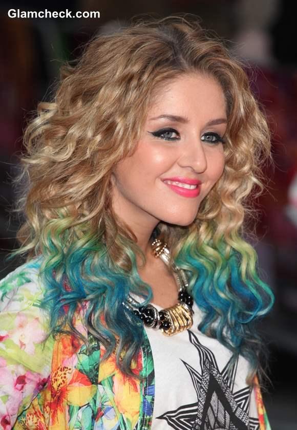 Esmee Denters Marine-inspired Hair Color