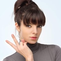 Hairstyle How To Ponytail with Bangs for Short Hair