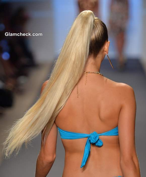 Hairstyle Trend 2014 Long Voluminous Ponytail