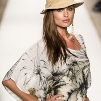 Lion Face Print Kaftan by Agua Bendita 2014
