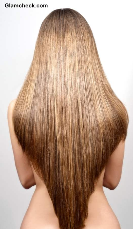 Long and Shaped Hair