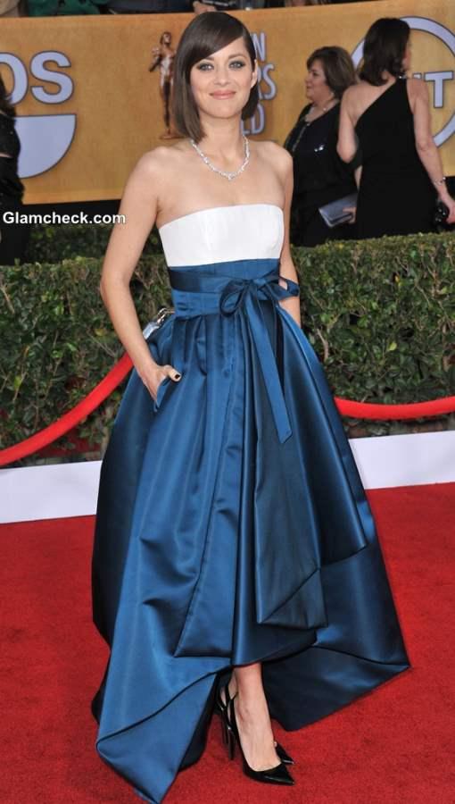 Marion Cotillard in Dior skirt 2013