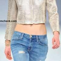 Metallic Cropped Jacket