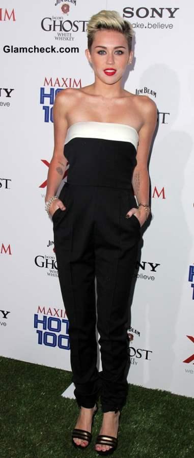 Miley Cyrus 2013 jumpsuit