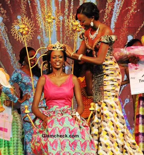 Miss Ghana 2013 Giuseppina Baafi