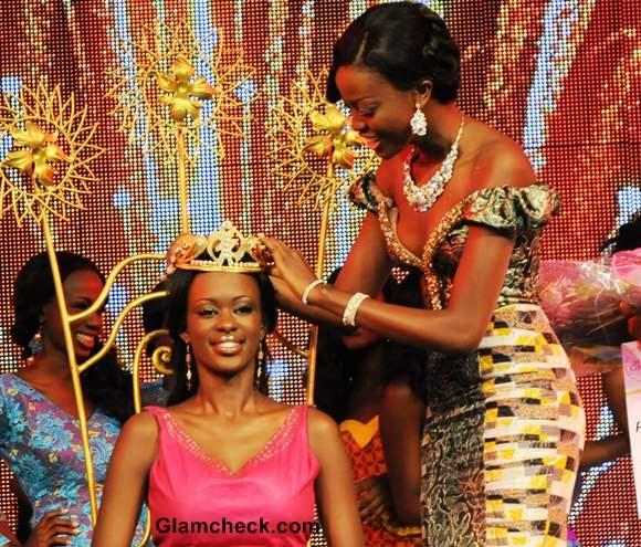 Miss Ghana 2013 is Giuseppina Baafi