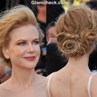 Nicole Kidman Braid Hairstyle at 2013 Cannes