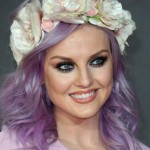 Perrie Edwards Lilac Hair color Fantastical Headband