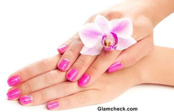 Pink Nail polish shades