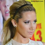 Ponytail with Headband Hairstyle like Ashley Tisdale