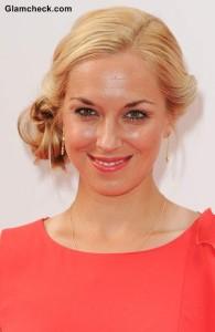 Sabine Lisicki Hairstyle Side Bun