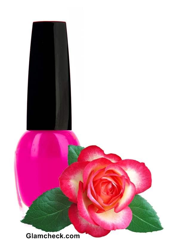 Shades of Pink Nail polish