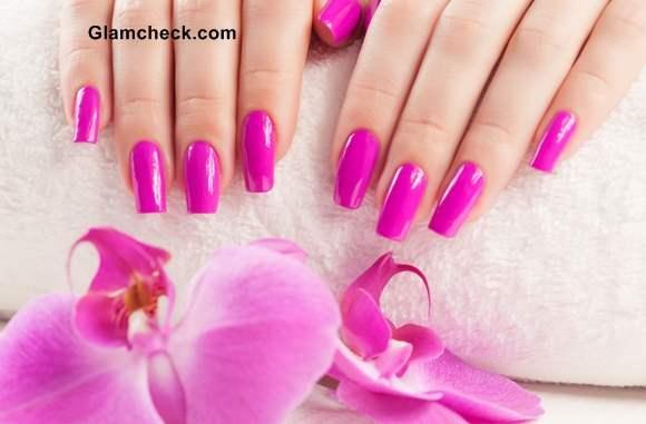 Shocking Pink Nail Polish