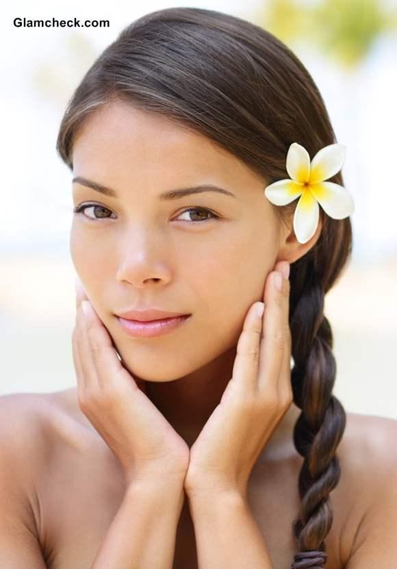 Simple Beach Braid Hairstyle