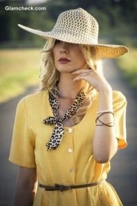 Straw Crochet Brim Hat