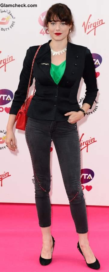Style Inspiration Jasmine Guinness styling black blazer