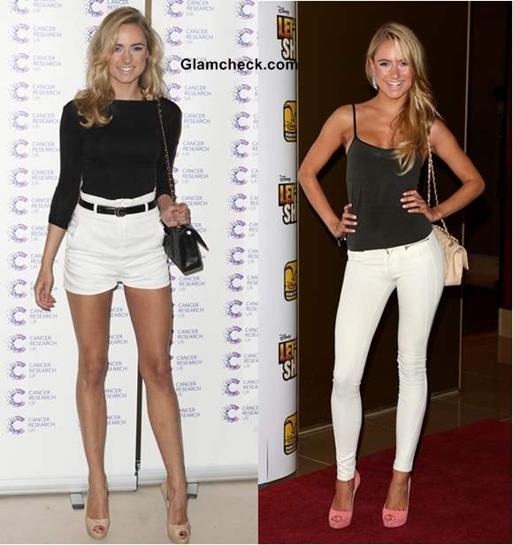 Style Inspiration Kimberly Garner Shows How to Rock the Monochrome Trend