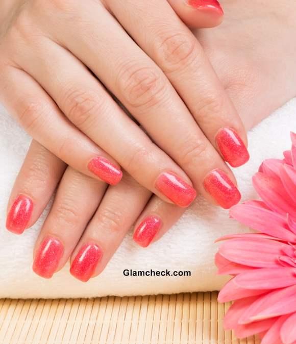 Trendy Pink Nail Polish colors