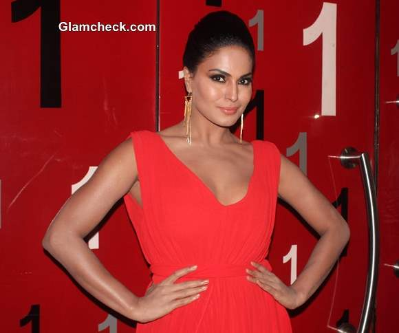 Veena Malik Launches Supermodel First Look in Mumbai