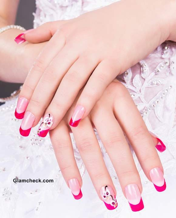 Wedding Nail Art Ideas French Manicure