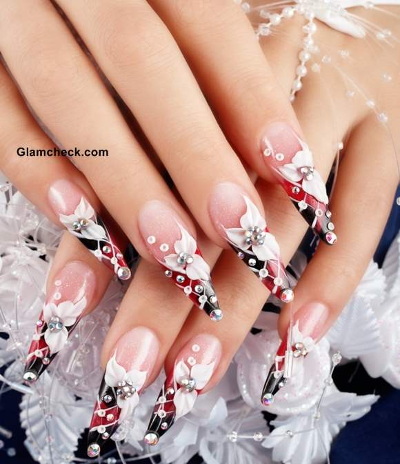 Wedding Nail Art Pictures