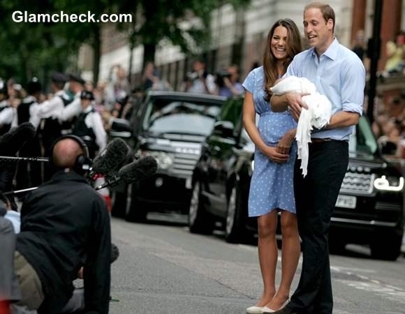 William Kate son George Alexander Louis