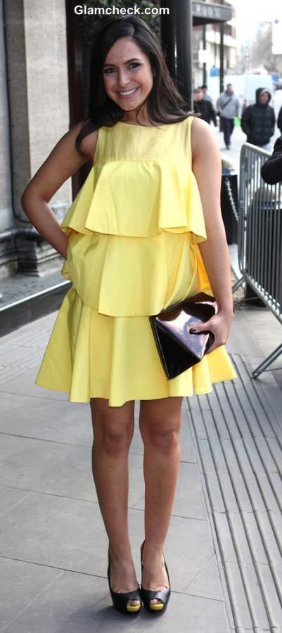 Yellow dress 2013 Nazaneen Ghaffar
