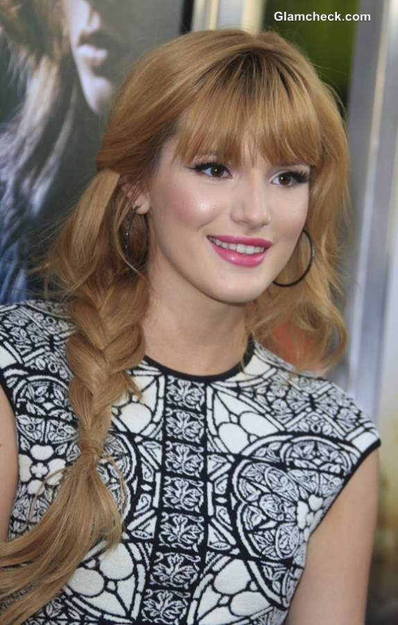 Bella Thorne Hairstyle 2013