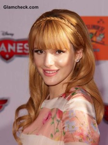 Bella Thorne Hairstyle with Bangs