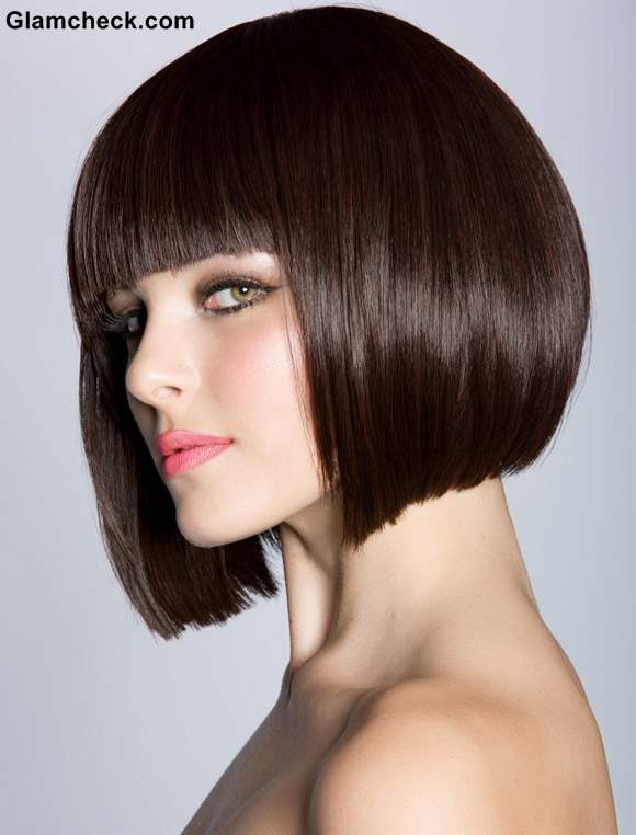 Bob Haircut Variations- Helmet Bob Haircut