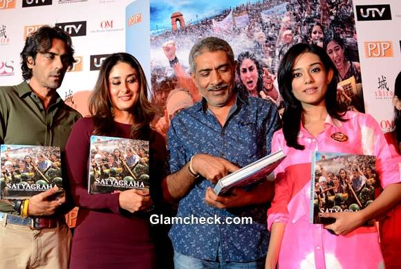 Cast of Satyagrah Launch Behind-the-Scenes Book