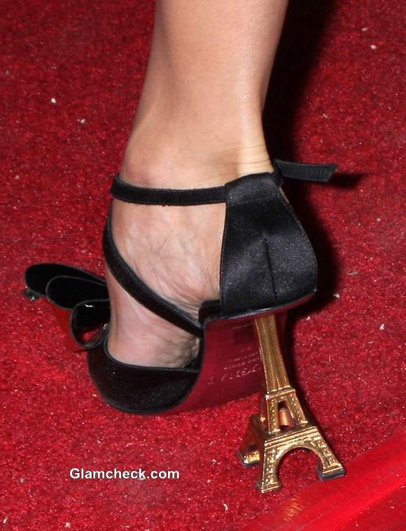Celeb Footwear Eiffel Tower Heels