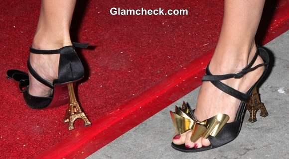 Celeb Footwear Izabella Miko Eiffel Tower Heels