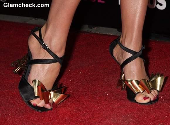Celeb Footwear Izabella Mikos Eiffel Tower Heels