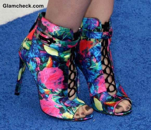 Celeb Footwear Linford Floral Booties