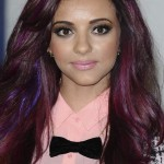 Celeb Hair Color Jade Thirlwall multicolor highlights
