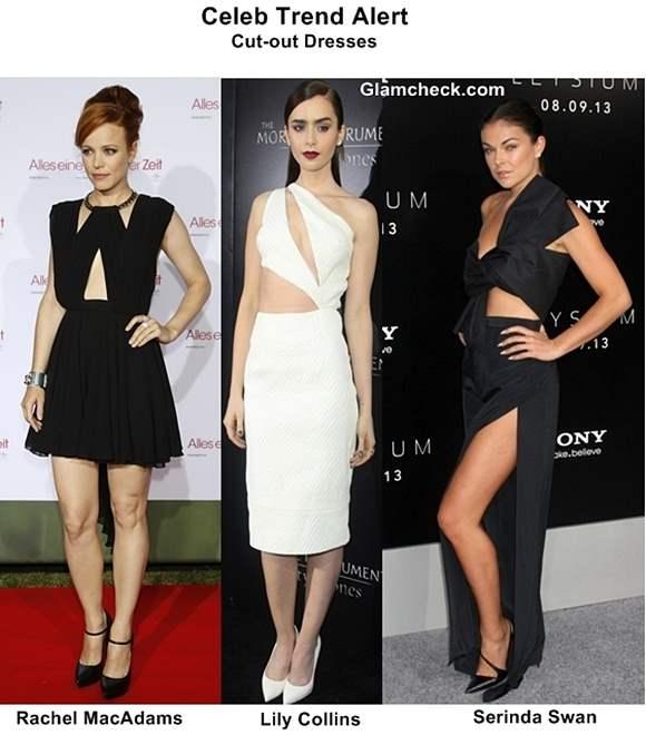 Celeb Trend Alert – Cut-out Dresses