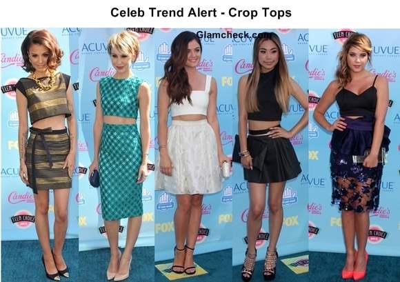 Celeb Trend Alert - Crop Tops