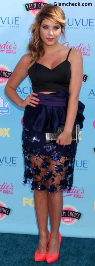 Celebrity Crop tops Ashley Benson 2013