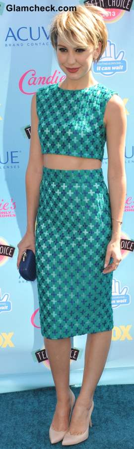 Celebrity Crop tops Chelsea Kane 2013