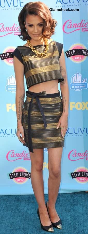 Celebrity Crop tops Cher Lloyd 2013