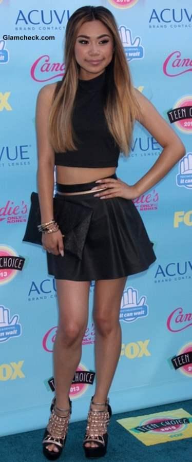 Celebrity Crop tops Jessica Sanchez 2013