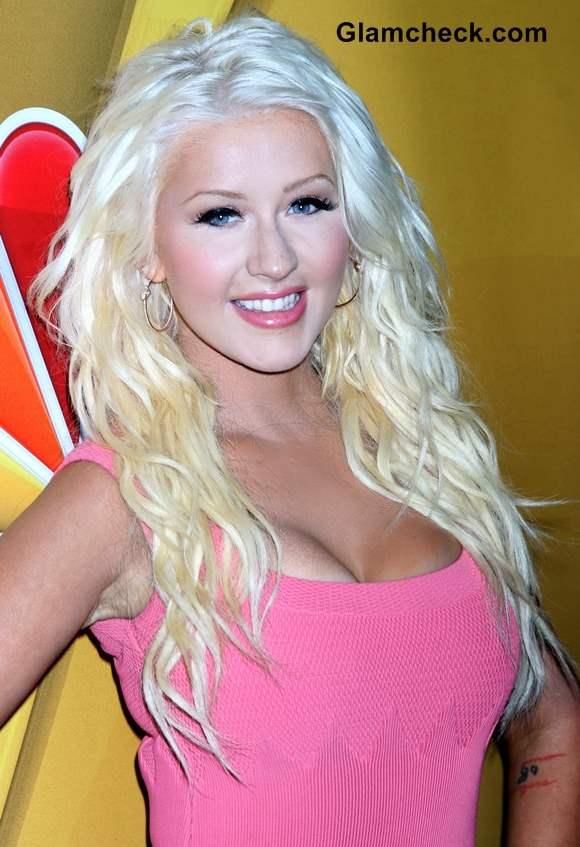 Christina Aguilera Hair Color 2013