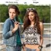 Denim Shorts Style Poll - Wearing It with Denim Jacket VS Singlet