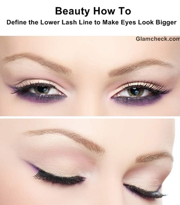 Beauty How To Define The Lower Lash Line To Make Eyes Look Bigger