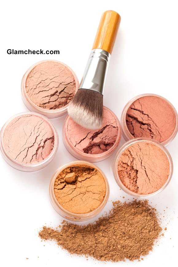 Face powder colos for various skin tones