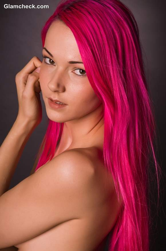 Full Pink Hair Color