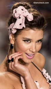 Hair Accessories Trend S-S 2014 – 1940s Style Polka Dot Headbands With Bows