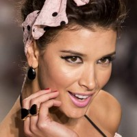 Hair Accessories Trend S-S 2014 - 1940s Style Polka Dot Headbands With Bows Nicolita